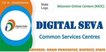 Common Services Center logo image Mizoram